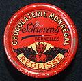 Chocolaterie Monregal Schrevens, Bruxelles, Reglisse blikje.JPG