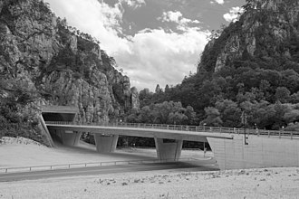 A16 motorway (Switzerland) - Bridge Choindez
