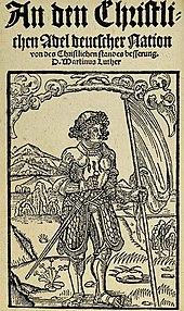 An den christlichen Adel (Quelle: Wikimedia)