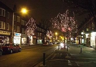 Pitshanger - Image: Christmas at Pitshanger Lane geograph.org.uk 299759