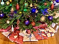 Christmas presents under Christmas tree in a private house in Brisbane, 2019.jpg