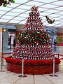 Christmas tree in Namba Walk.JPG