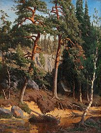 CHURBERG Fanny In the Forest, 1878
