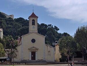 Îles d'Hyères - Image: Church, Porquerolles, Îles d'Hyères
