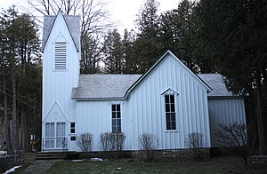 Church of the Atonement (Fish Creek, Wisconsin) - Image: Church Of The Atonement Fish Creek Wisconsin