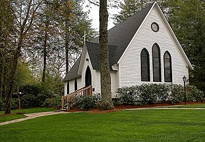 National Register of Historic Places listings in Jackson County, North Carolina - Image: Church Of The Good Shepherd Cashiers