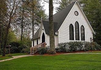 Church of the Good Shepherd (Cashiers, North Carolina) - Church Of The Good Shepherd Cashiers, August 2008