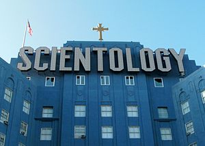 Operation Snow White - Scientology building in Los Angeles, California.