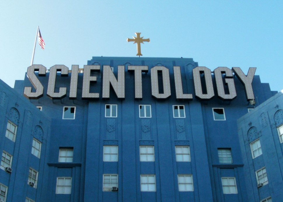Church of Scientology building in Los Angeles, Fountain Avenue