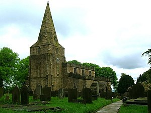 Old Brampton - Image: Church of St Peter and St Paul, Old Brampton geograph.org.uk 172328