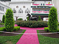 Churchill Downs Aristides dressed in Pink.jpg