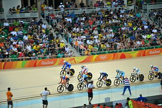 Omnium - Omnium scratch race at the Rio Olympics