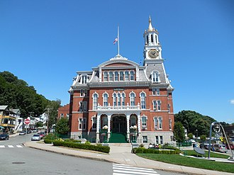 Norwich, Connecticut - A view of the Norwich City Hall