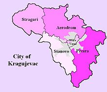 mapa kragujevca naselja Stragari   Wikipedia mapa kragujevca naselja