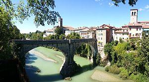 Cividale del Friuli - Image: Cividale in panoramic