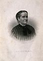 Clemence Sophia Harned Lozier. Stipple engraving by H. B. Ha Wellcome V0003704.jpg