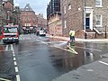 Clifford Street, York during 2013 floods - panoramio.jpg