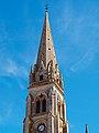 Clocher Eglise Saint-Martial à Montmorillon dans la Vienne.jpg