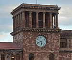 Clock Government House Yerevan.jpg