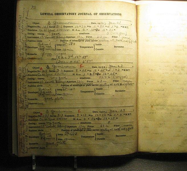 File:Clyde Tombaugh Records - Flickr - brewbooks (1).jpg