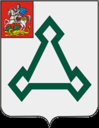 Volokolamsk - Image: Coat of Arms of Volokolamsk (Moscow oblast)
