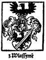 Coat of Arms z Vlašimě of Jankov and Vlašim c1318.jpg