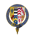 Coat of arms of Sir Henry Sidney, KG.png