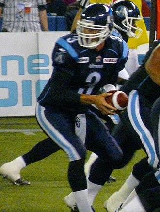 Cody Pickett - Pickett with Toronto in 2008