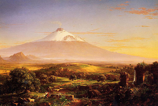 Cole Thomas Mount Etna 1842