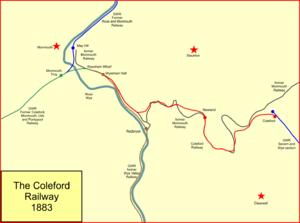 Coleford Railway - The Coleford Railway system