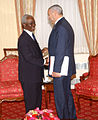 Colin Powell with Oluyemi Adeniji, September 2003.jpg