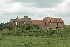 Acaster Selby - Image: College Farm, Acaster Selby