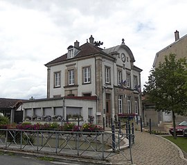 The town hall in Colombier-Fontaine