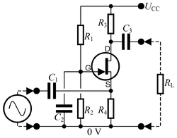 Common Gate amplifier.png