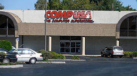 CompUSA logo