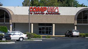 CompUSA - A CompUSA store in Santa Clara, California, circa 2005