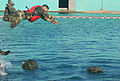Competitors Dive Into Action During Fuerzas Comando Aquatic Event Image 1 of 4.jpg