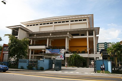 How to get to Ngee Ann Secondary School with public transport- About the place