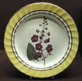 Composite Dessert Service - Purple Flowered Mullein, c. 1796-1805, New Derby China Works, bone ash soft-paste porcelain, overglaze enamels, gilding - Gardiner Museum, Toronto DSC00821.JPG