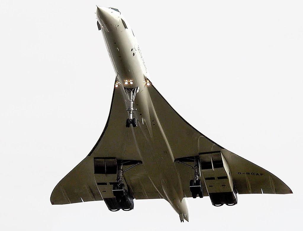 El último vuelo de un Concorde comercial, el 26 de noviembre de 2003.