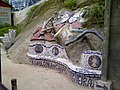 Concrete bench with mosaic finish.jpg