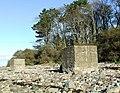 Concrete blocks - geograph.org.uk - 610425.jpg