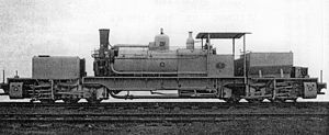 0-6-0+0-6-0 - Belgian Congo type 2MB Garratt no. 112