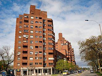 Palermo, Montevideo - Conjunto Habitacional Rambla