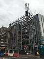 Construction of the Westgate Hotel on Westgate Street, Cardiff in December 2020.jpg