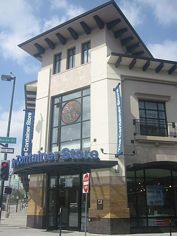 Container Store in Pasadena, California