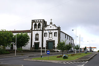 church building in Azores, Portugal