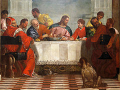 The Feast in the House of Levi - Paolo Veronese, 1573