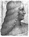 Copie de Léonard de Vinci, profil d'Isabelle d'Este, XIXe siècle, Münich, Staatliche Graphische Sammlung, inv.2155.jpg