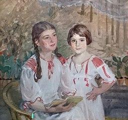 Cornelia and Charlotte Hahn